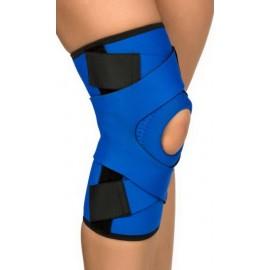Stabilizator kolana z szynami elastycznymi