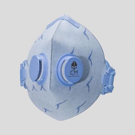 Higieniczna MASKA przeciwsmogowa, przeciwpyłowa z węglem aktywnym