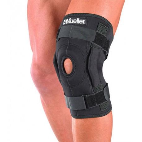 Owijany zawiasowy stabilizator kolana