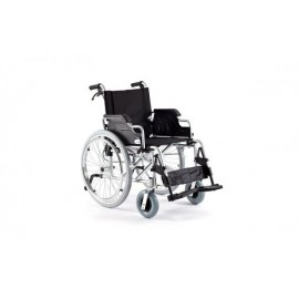 Wypożyczalnia: Wózek inwalidzki aluminiowy szerokość siedziska 46 cm