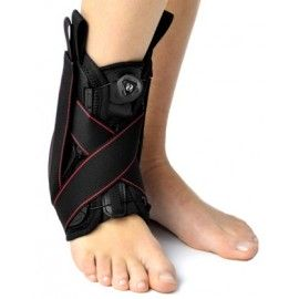 Dziecięca orteza stawu skokowego obejmująca goleń i stopę z bocznym wzmocnieniem SYSTEMEM CCA